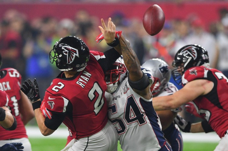 Hightower Strips Ryan Super Bowl